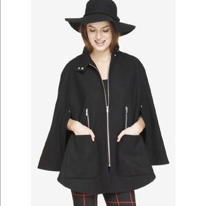 Express Jackets & Coats - Express wool cape coat